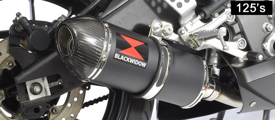 Black widow motorcycle exhaust review